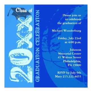 Pintura del azul de la invitación ARQ210 de la