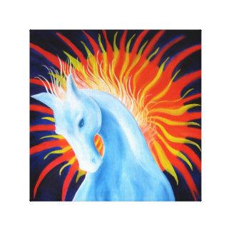 Pintura del caballo del alcohol lienzo