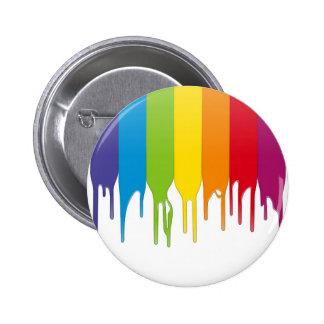 Pintura del color del vector pin