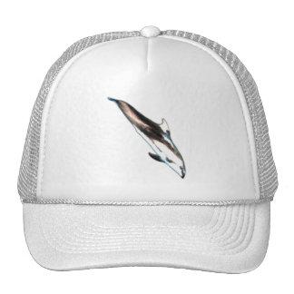 Pintura del delfín gorra