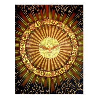 Pintura del Espíritu Santo Postal