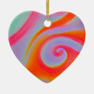 Pintura del remolino del color adornos