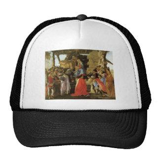 Pintura del renacimiento de Botticelli Gorro