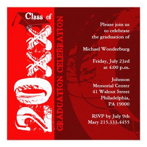 Pintura del rojo de la invitación ARQ210 de la gra