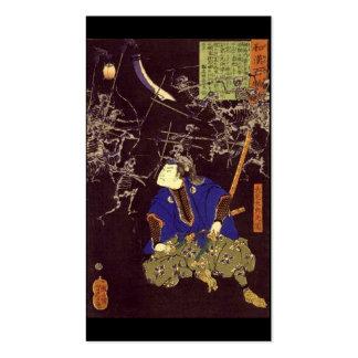 Pintura del samurai del fantasma, C. 1865 Tarjetas De Visita