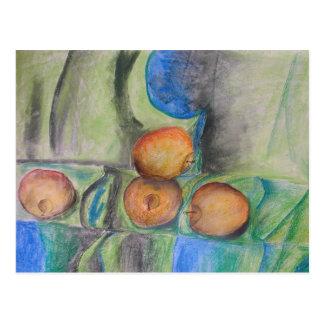 pintura en colores pastel del artista Elizaveta Postal