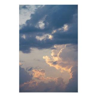 Pintura en el cielo II (tamaño L) Foto