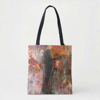 Pintura figurada gótica, arte abstracto del bolso de tela