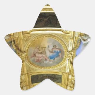 pintura francesa del techo pegatina en forma de estrella