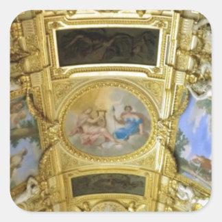 pintura francesa del techo pegatina cuadrada
