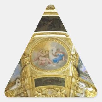 pintura francesa del techo pegatina triangular