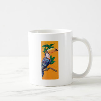 Pintura hermosa del pájaro de Toucan Taza De Café
