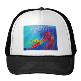 Pintura mojada gorras de camionero