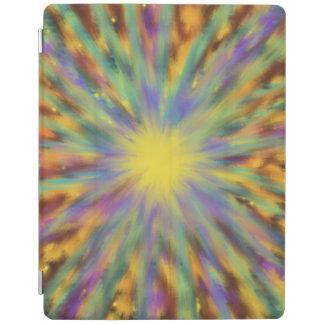 Pintura multicolora del arte abstracto de la cover de iPad