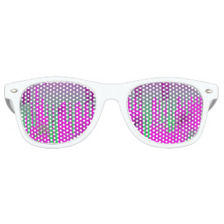Pintura rosada de Drippin Gafas De Fiesta