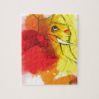 pinturas de Ganesha del abtract Puzzle