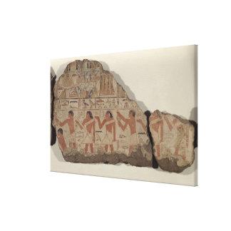 Pinturas de Metjetji, detalle de los sacerdotes de Lona Estirada Galerias