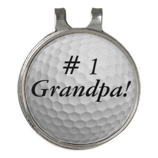 Pinza Para Gorra De Golf # 1 abuelo personaliza el marcador de la bola del