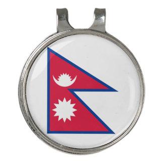 Pinza Para Gorra De Golf Bandera de Nepal