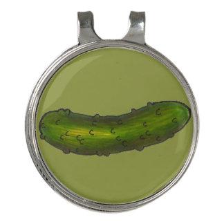 Pinza Para Gorra De Golf Impresión kosher verde crujiente Foodie de la