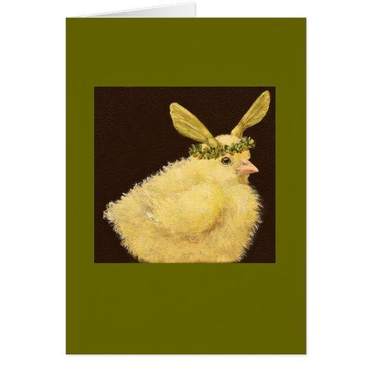 Pío con la tarjeta del gorra de la semilla del