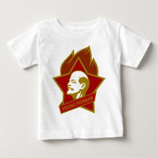 Pionero de los jóvenes de Rusia CCCP URSS Camiseta De Bebé