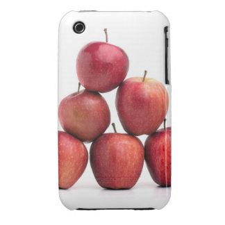 Pirámide de las manzanas red delicious funda para iPhone 3