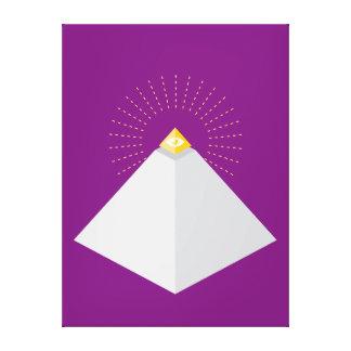 Pirámide iconográfica + Capstone Impresiones De Lienzo