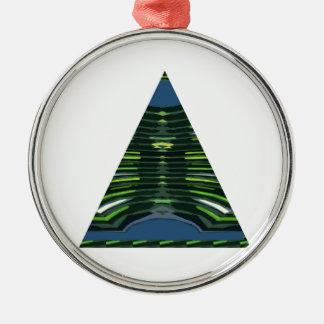 Pirámide VERDE NVN237 NavinJOSHI del triángulo de