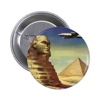 Pirámides Egipto Giza del desierto del aeroplano d Pins