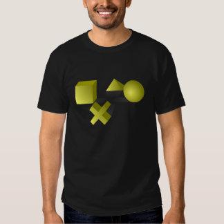 Pirámides juguetonas camiseta