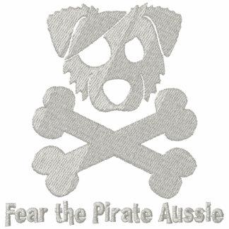 Pirata Aussie Sudadera Bordada Con Cremallera De Mujer