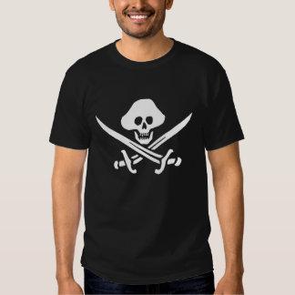 Pirata, bandera principal grande camisas