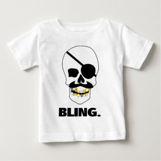 Pirata Bling Camiseta De Bebé
