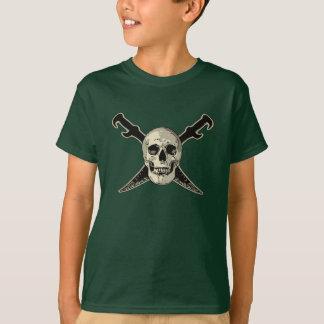Pirata (cráneos) - Hanes básico Tagless Comfor de Camiseta