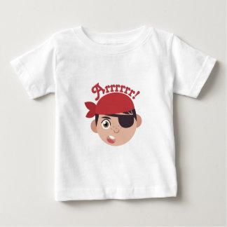 Pirata de Arrrrr Camiseta De Bebé