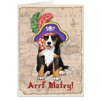 Pirata de Berner Tarjeta De Felicitación