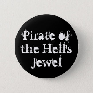 Pirata del botón de la joya del infierno