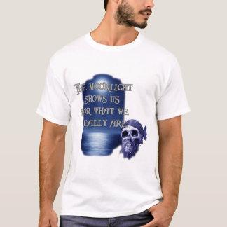 Pirata del claro de luna camiseta