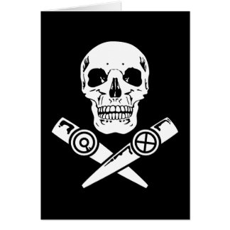 Pirata del Kazoo Tarjeta De Felicitación