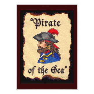 Pirata del mar anuncio personalizado