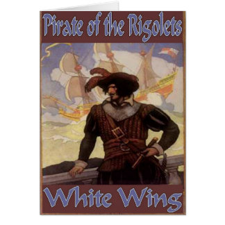 Pirata del Rigolets Tarjeta De Felicitación