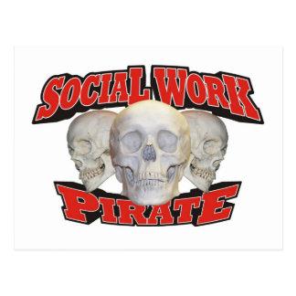 Pirata del trabajo social postal