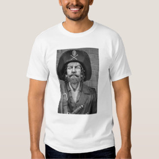 Pirata en camiseta del traje