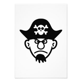 Pirata Invitación