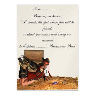 Pirata - invitación