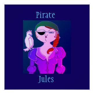 Pirata Julio el pirata de Eco - poster