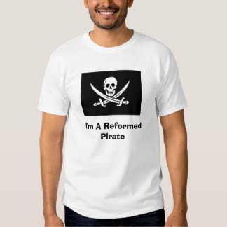 Pirata reformado camisetas
