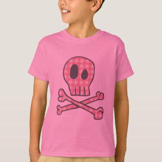 Pirata rosado de la guinga camisetas
