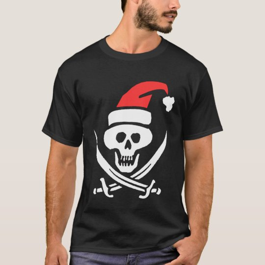 Pirata Santa Camiseta